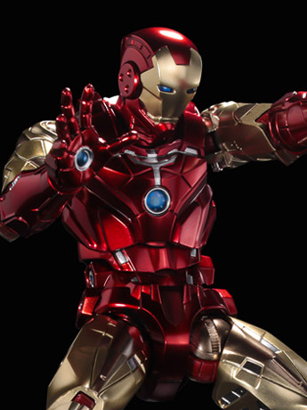 Marvel Fighting Armor Iron Man Figure