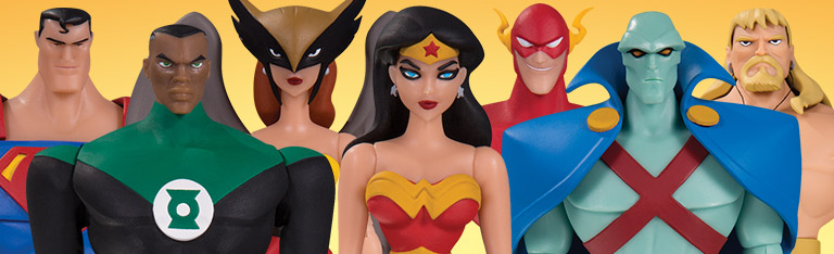 Justice League Animated Figures