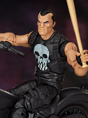 Marvel Legends Punisher Figure & Vehicle