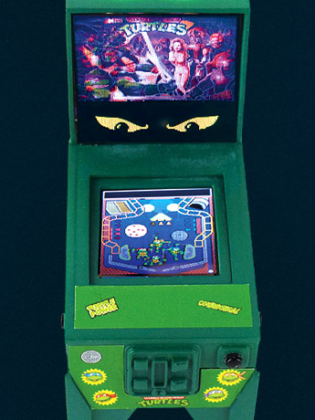 TMNT Boardwalk Arcade Pinball