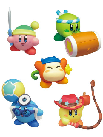 Kirby Battle Royale Manmaru Mascot Figures