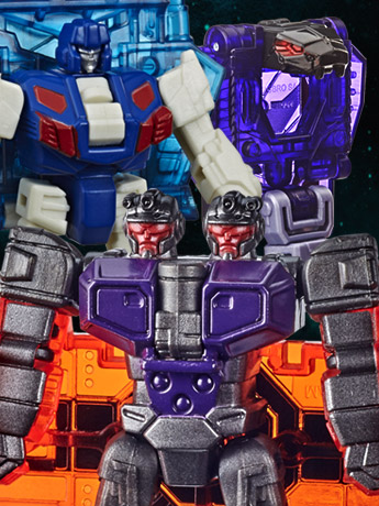 Transformers War for Cybertron: Earthrise Battle Masters Wave 3