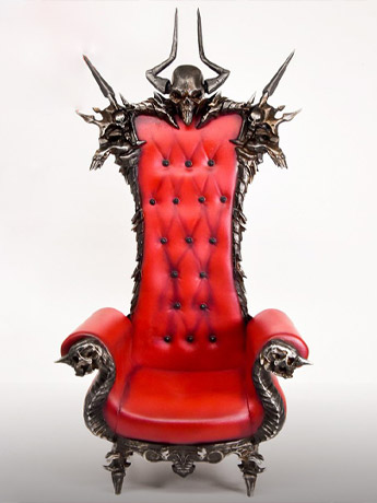 Skull Throne 1/6 Scale Accessory
