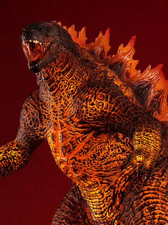 Godzilla: King Of Monsters UA Monsters Burning Godzilla