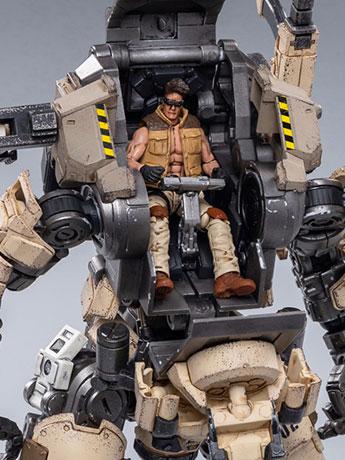Dark Source Steelbone Armor (Desert) With Pilot 1/24 Scale Set