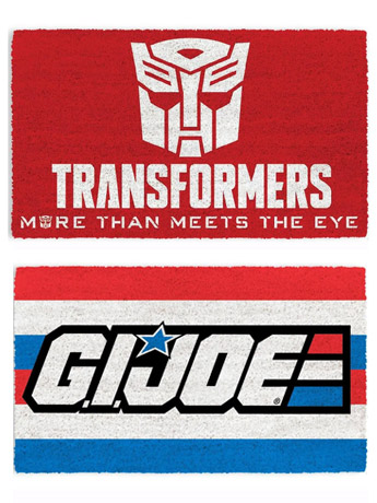 Door Mats: Transformers, G.I. Joe & More