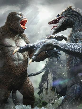 Kong: Skull Island Kong Vs. Skullcrawler