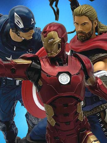Marvel's Avengers Gamerverse 1/10 Scale Statues