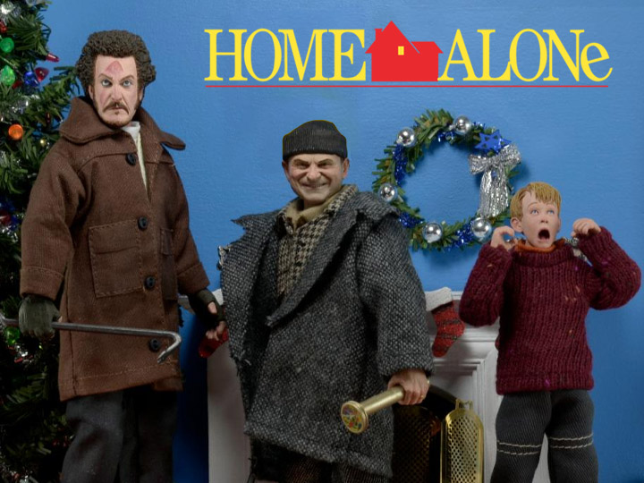 NECA Home Alone Figures